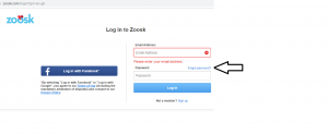 Zoosk forgot password