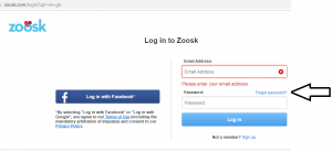 Zoosk account recovery