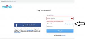 Forgot zoosk password login Zoosk